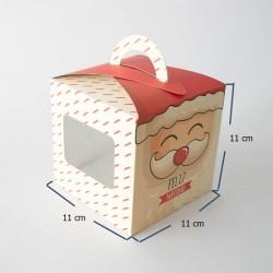 Caja cupcake navidad