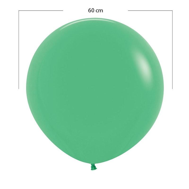 Globo grande verde mate - 60 cm
