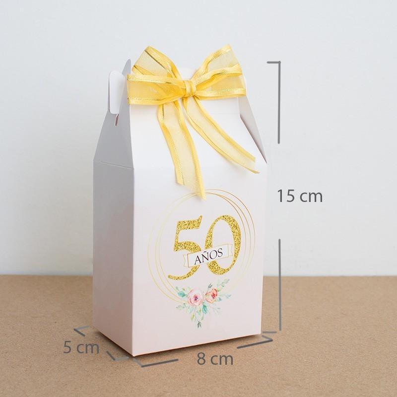 Cajita cumpleaños 50