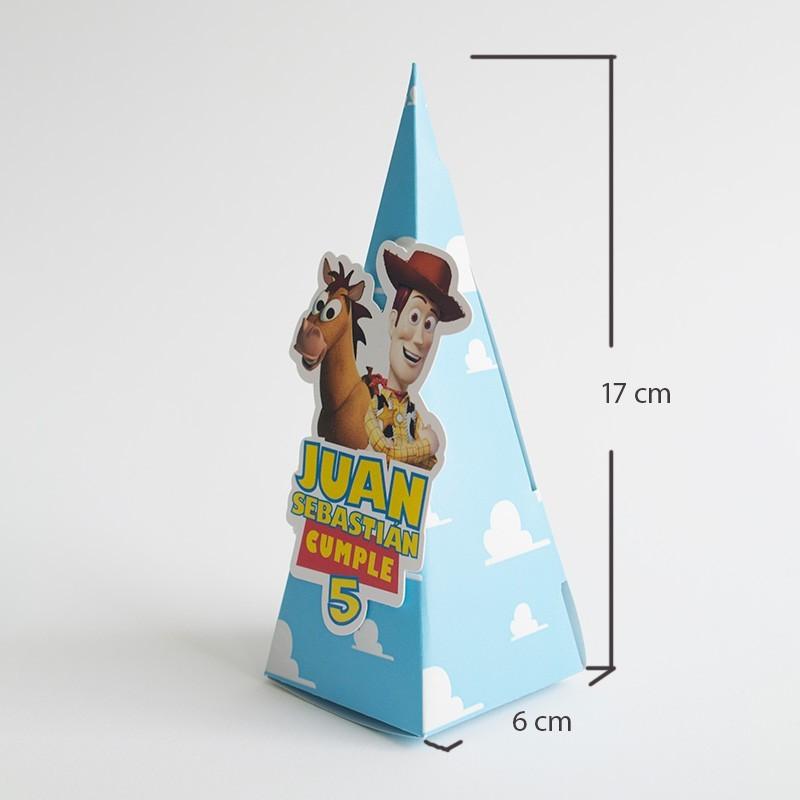 Cajita personalizada cumpleaños Toy Story
