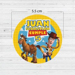 Etiquetas adhesivas Toy Story
