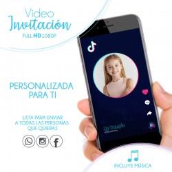 Invitación TikTok con foto