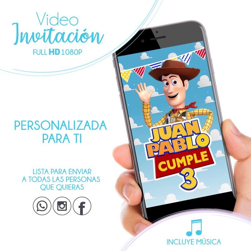 Toy Story Animated Invitation
