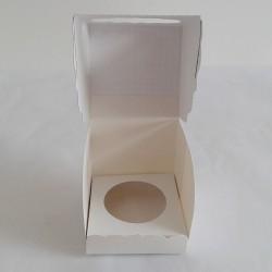 Caja Cupcake Chevron