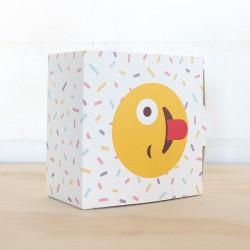 Caja para trufas emoticón