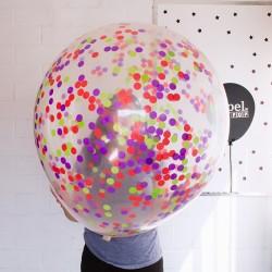 Globo gigante transparente