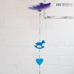 Globo decorado baby shower
