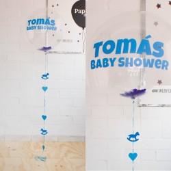 Globo decorado baby shower