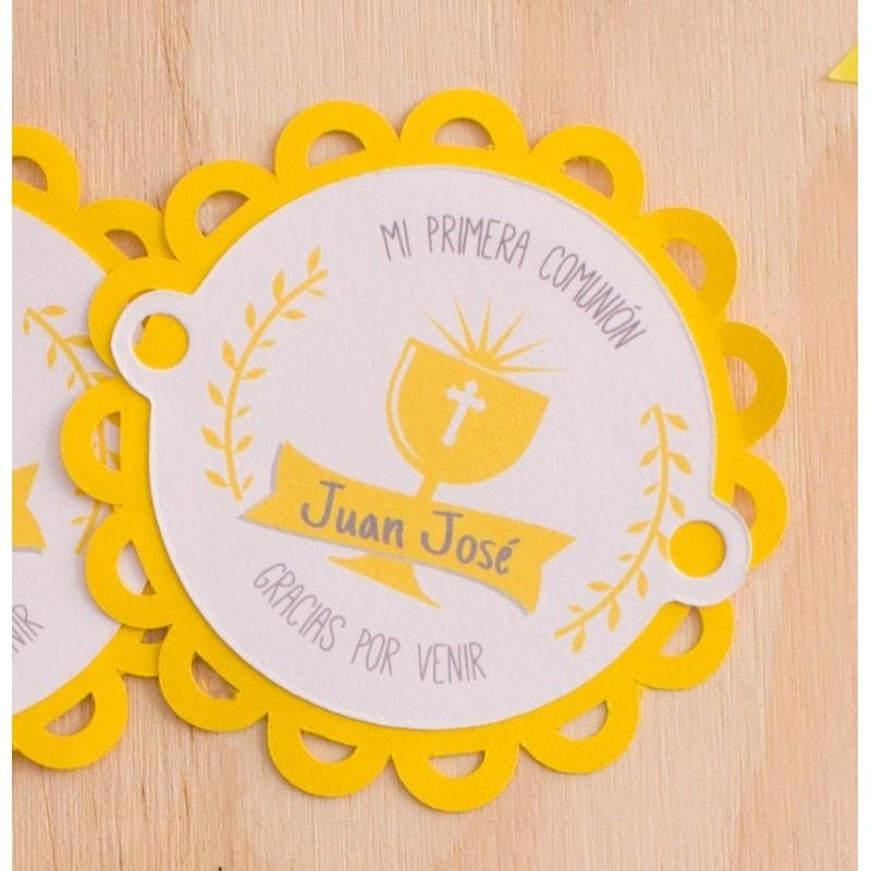 etiquetas decorativas primera comunión papelpop