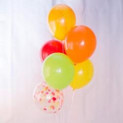 Mix de globos tutti frutti