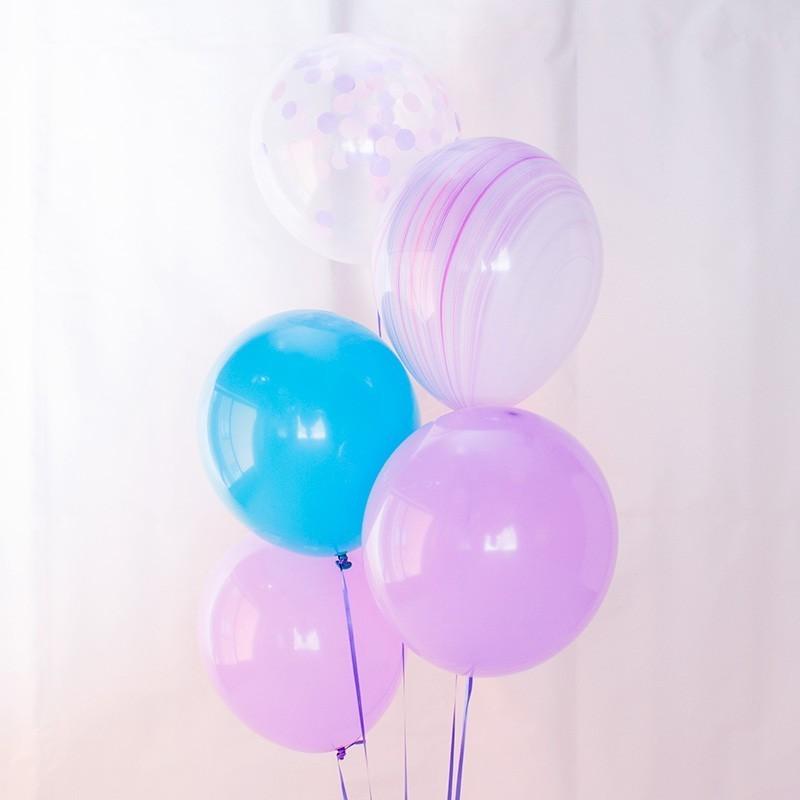 Mix de globos fiesta sirena