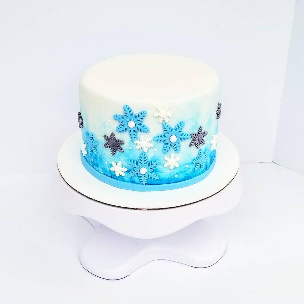 pastillaje torta frozen