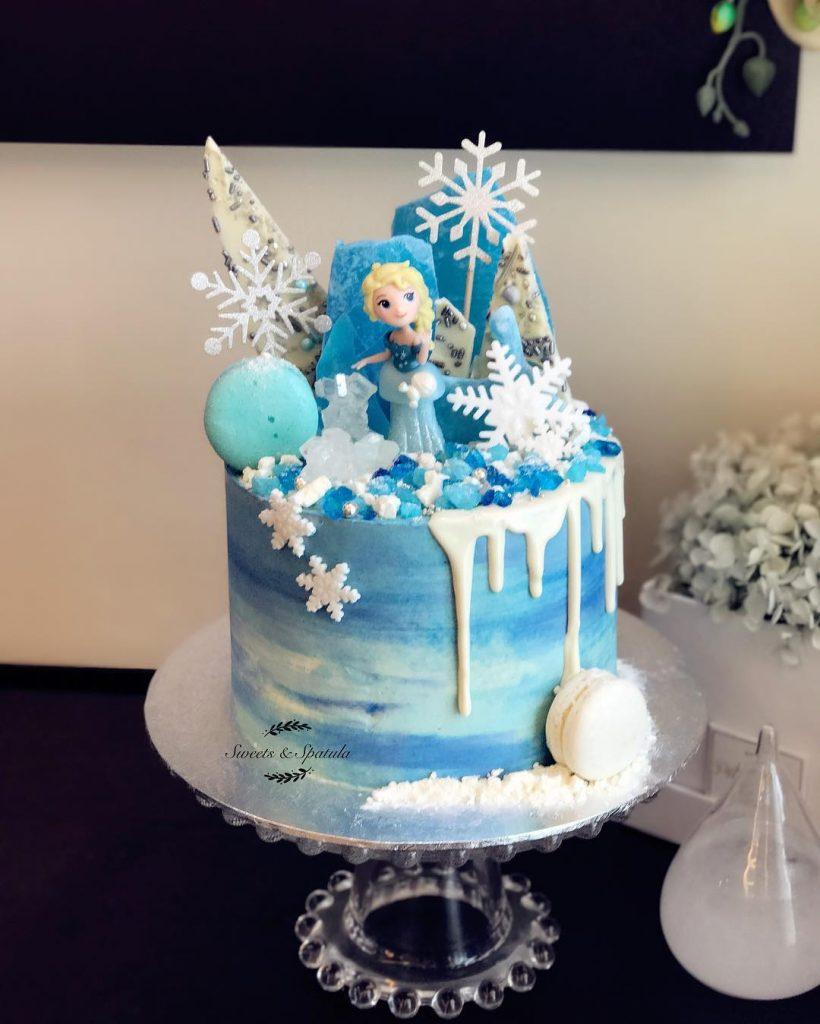torta nena frozen